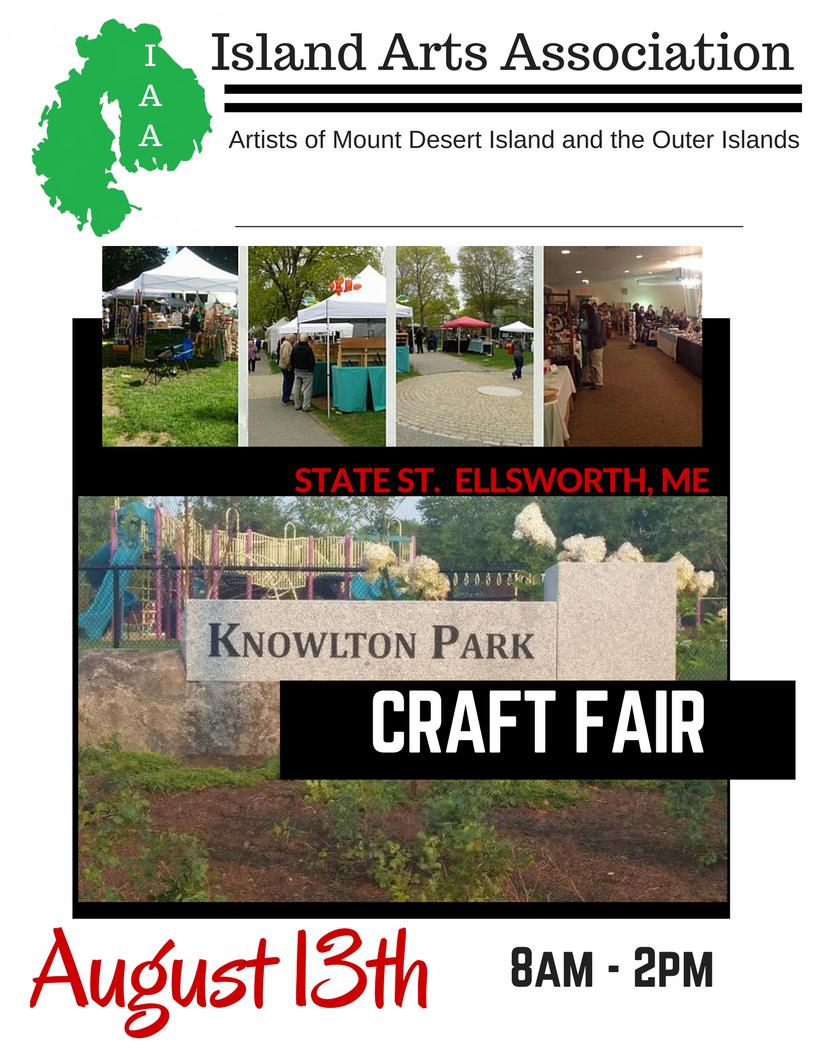 Craft fair maine october for Craft fairs near me